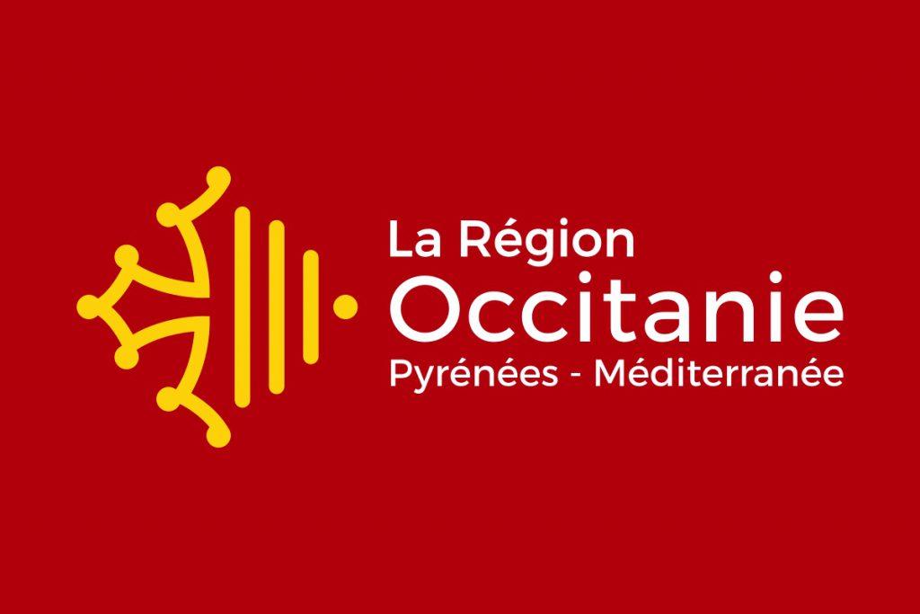logo region occitanie pyrénées méditerranée